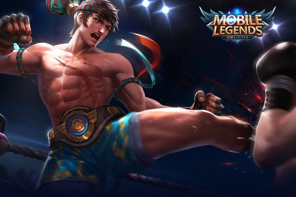 Wallpaper Mobile Legends Chou King Of The Fighter