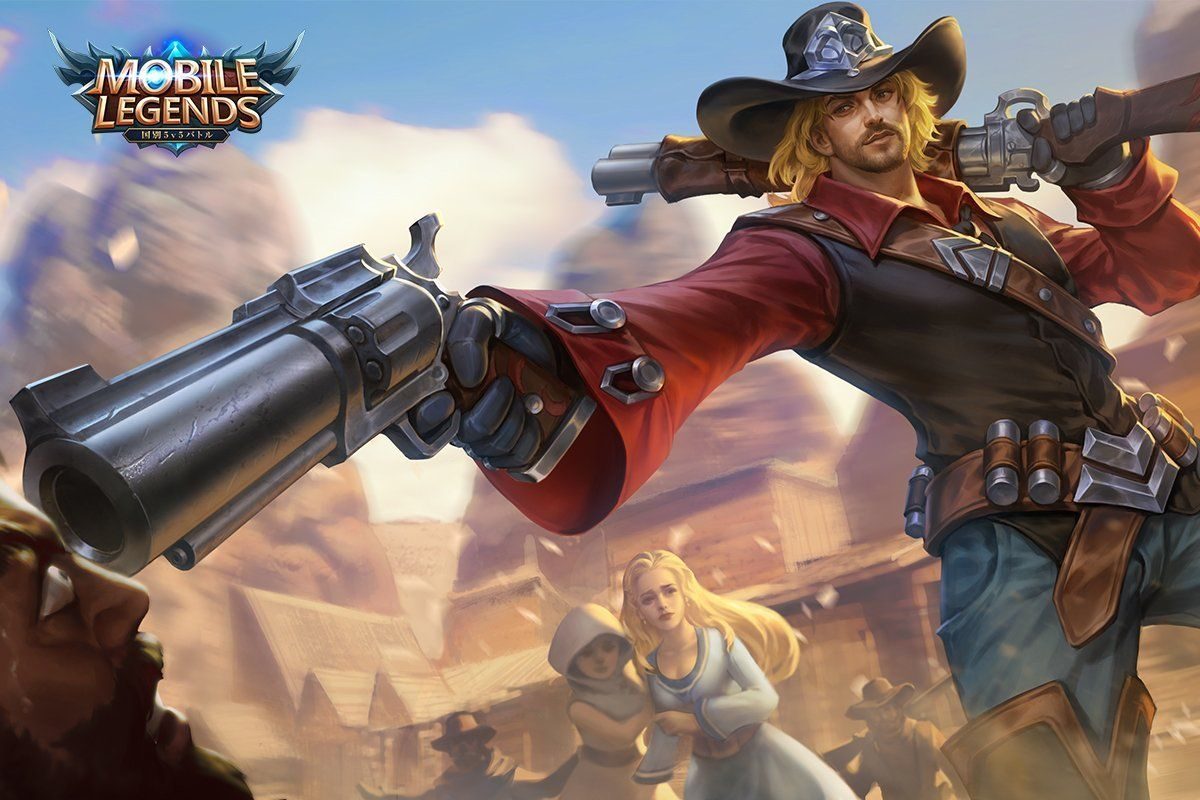Wallpaper Mobile Legends Clint Wasteland Drifter
