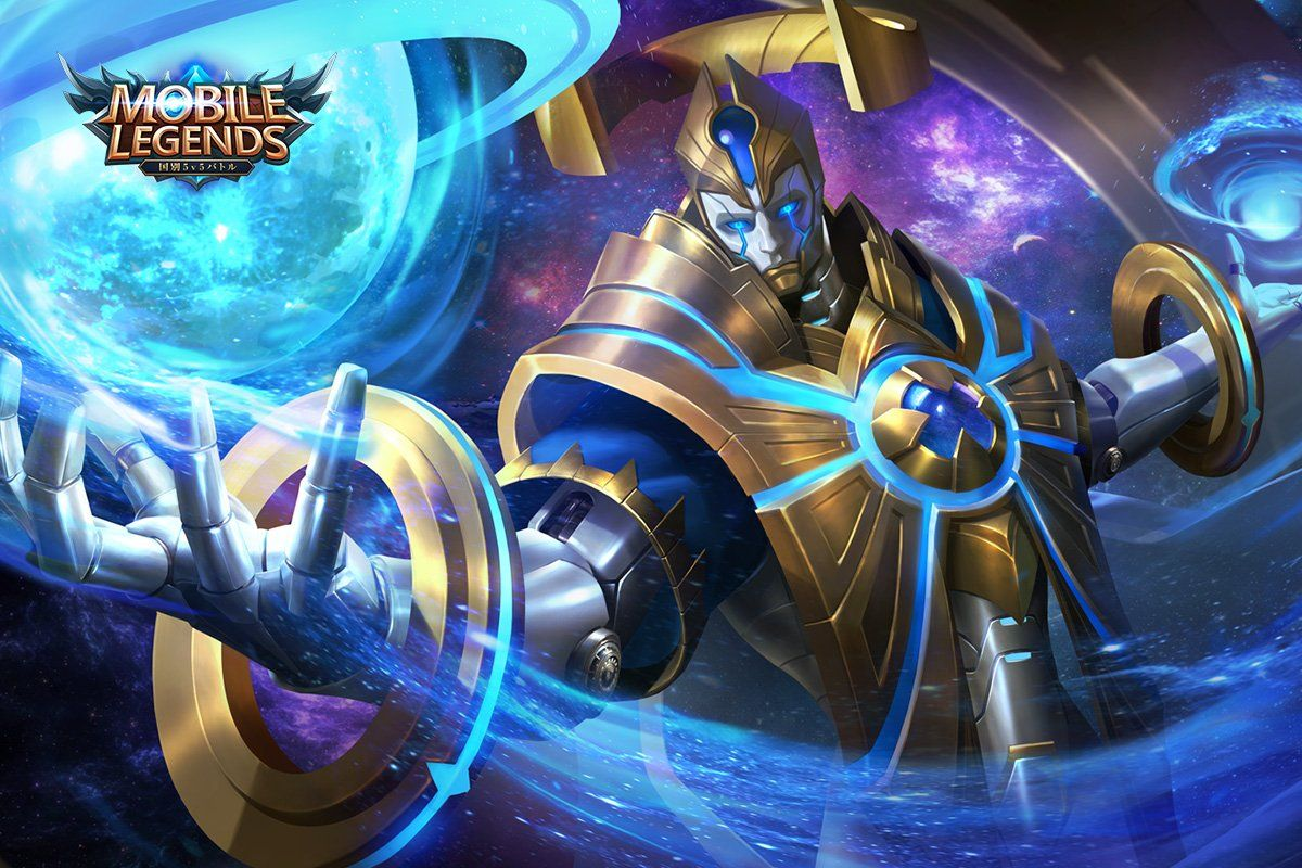 Wallpaper Mobile Legends Estes Galaxy Dominator
