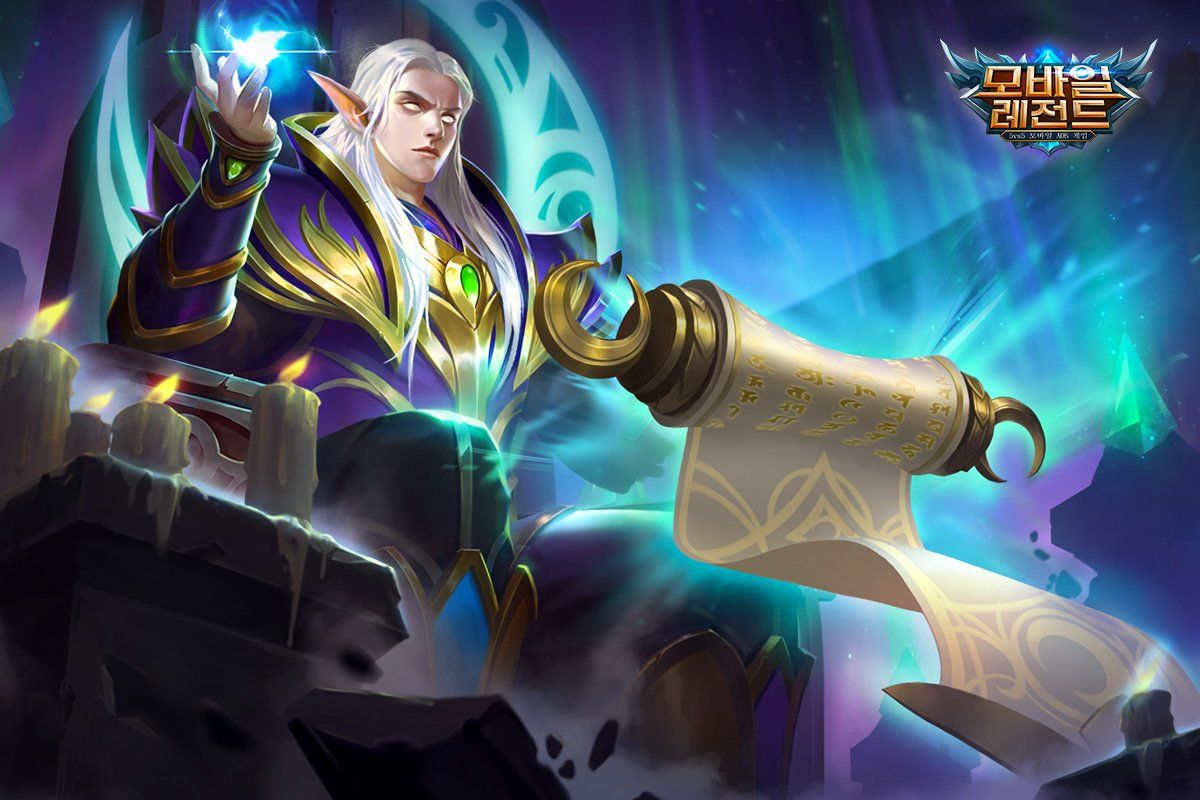 Wallpaper Mobile Legends Estes Moon Elf King