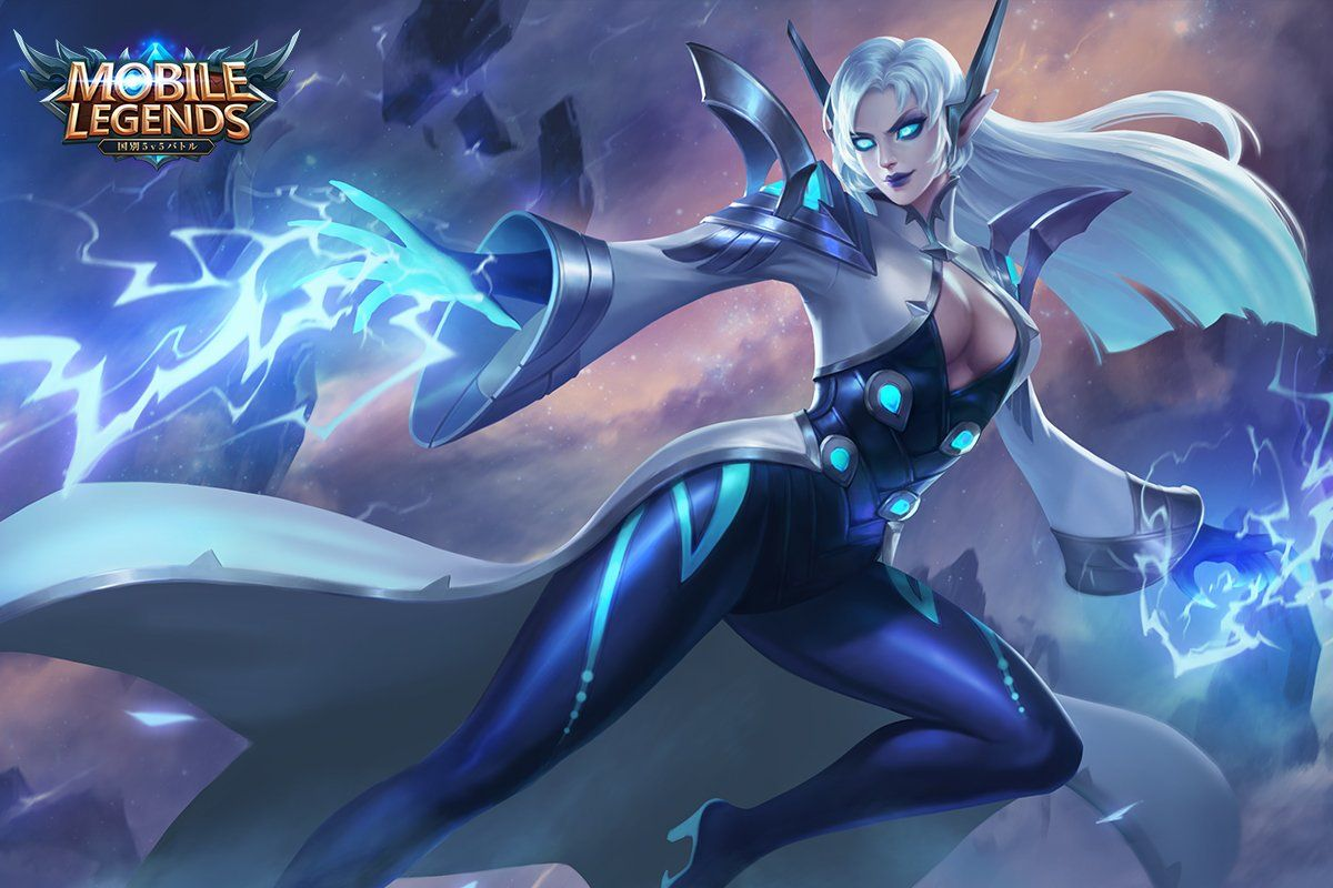 Wallpaper Mobile Legends Eudora Lightning Sorceress