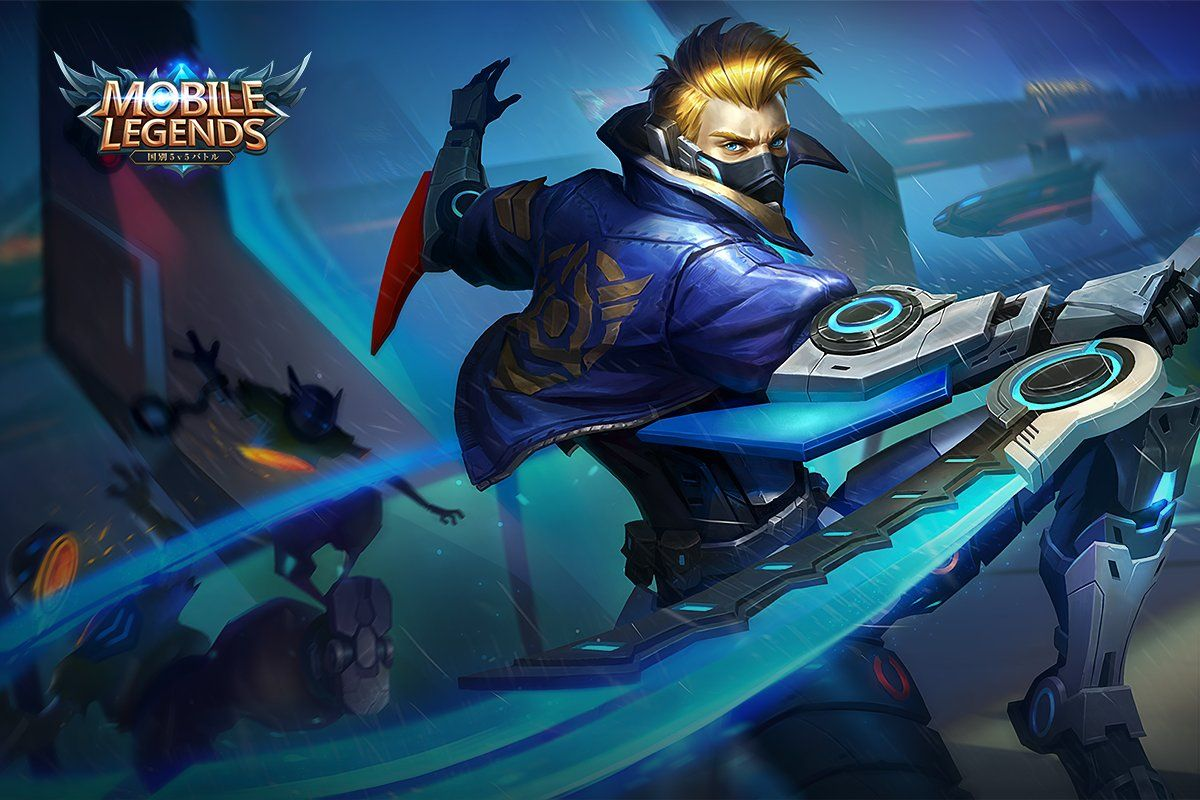 Wallpaper Mobile Legends Hayabusa Future Enforcer