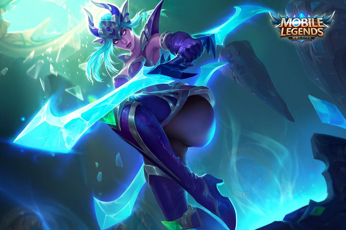 Wallpaper Mobile Legends Karina Shadow Blade