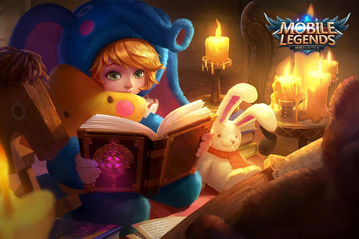 Wallpaper Mobile Legends Nana Slumber Party