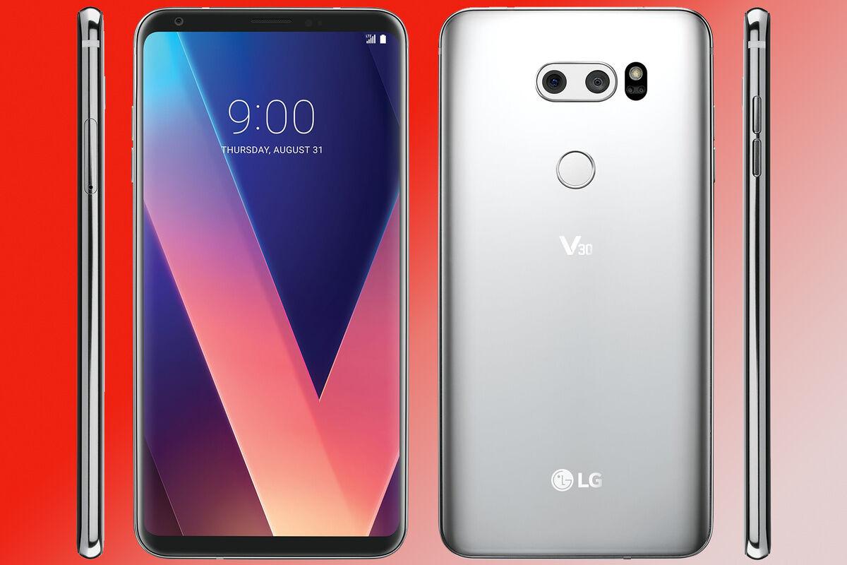 Smartphone Bezel Less 2017 Lg V30