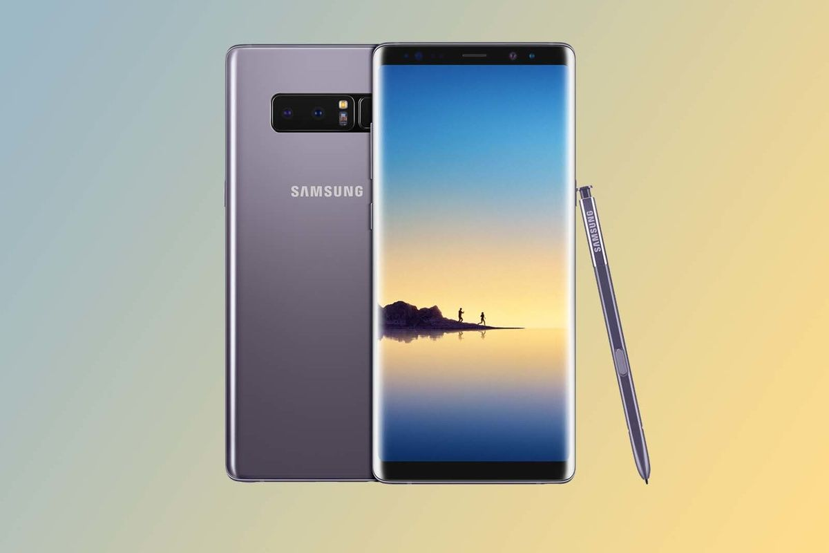 Smartphone Bezel Less 2017 Samsung Galaxy Note 8