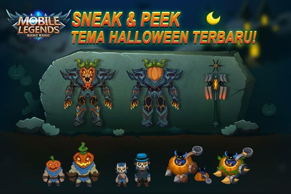 Bocoran Halloween Mobile Legends 1