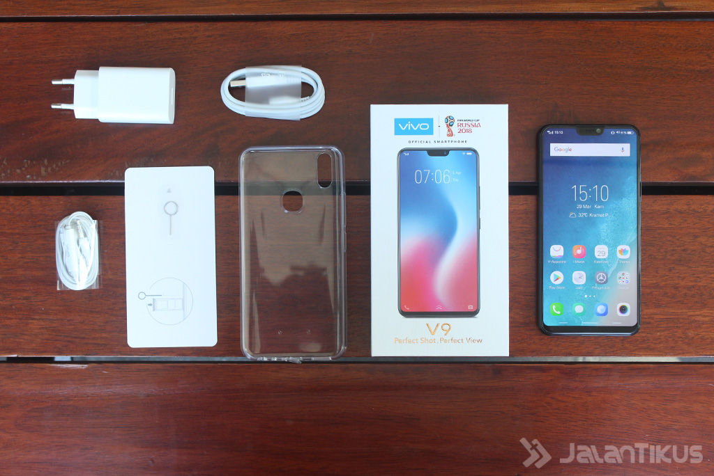 Review Vivo V9 Kelengkapan 47f7f
