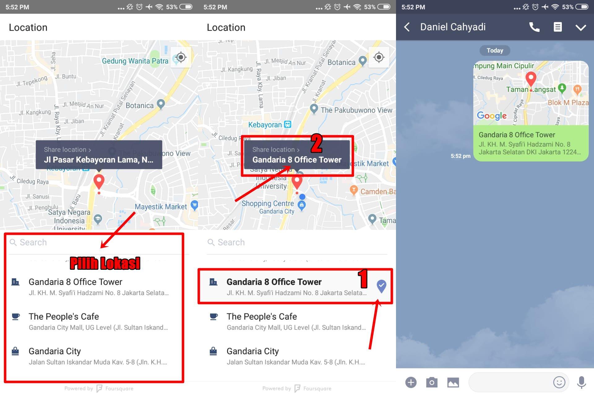 Cara Share Lokasi Di Line 2 342aa