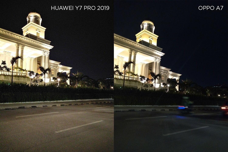 Perbandingan Foto Huawei Y7 Pro 2019 Vs Oppo A7 02 A734b