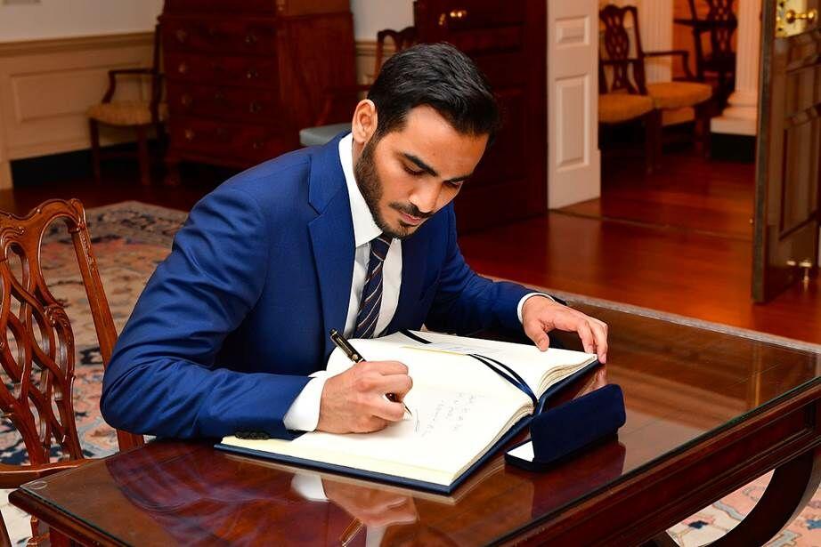 Sheikh Mohammed Bin Hamad Bin Khalifa Al Thani Of Qatar 326e9