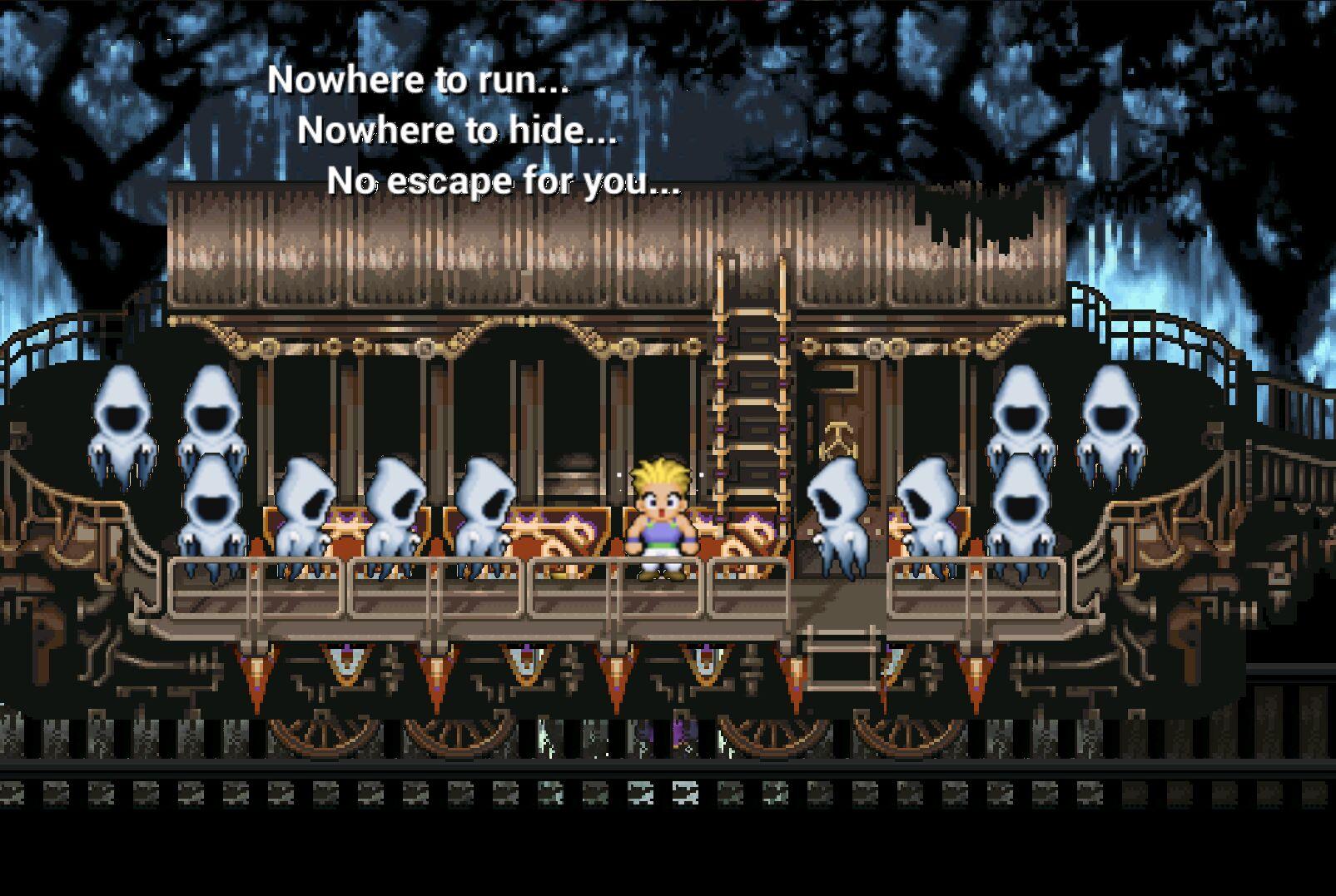 Final Fantasy VI The Phantom Train Copy B2cc9