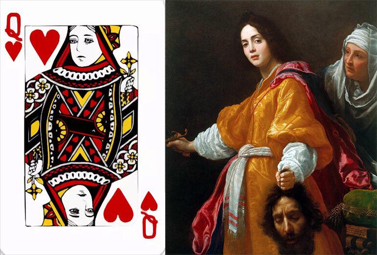 Queen Of Spade Hearts Hati