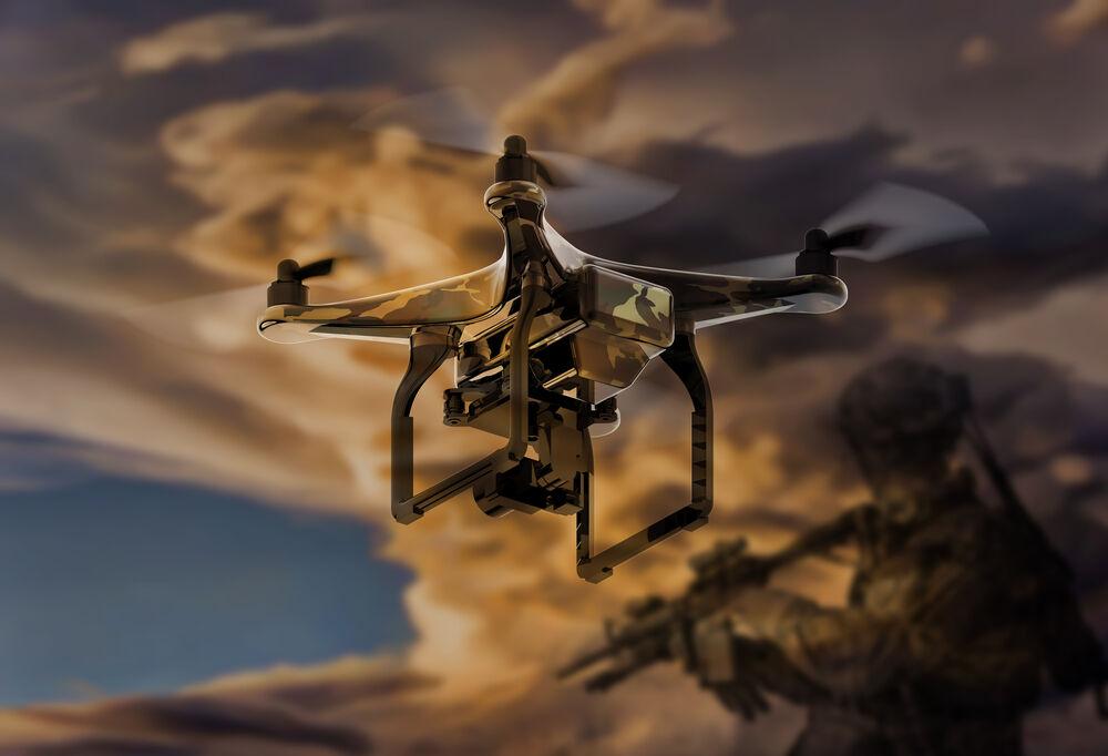 Drone Untuk Kepentingan Militer