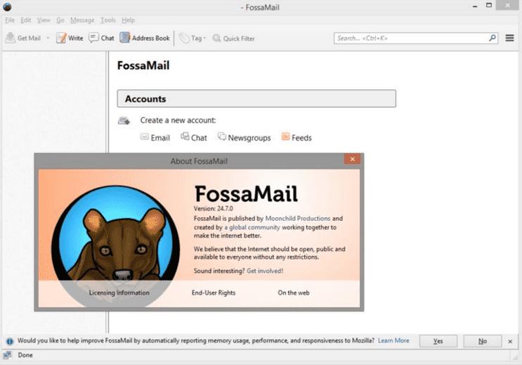 Download Fossamail Terbaru