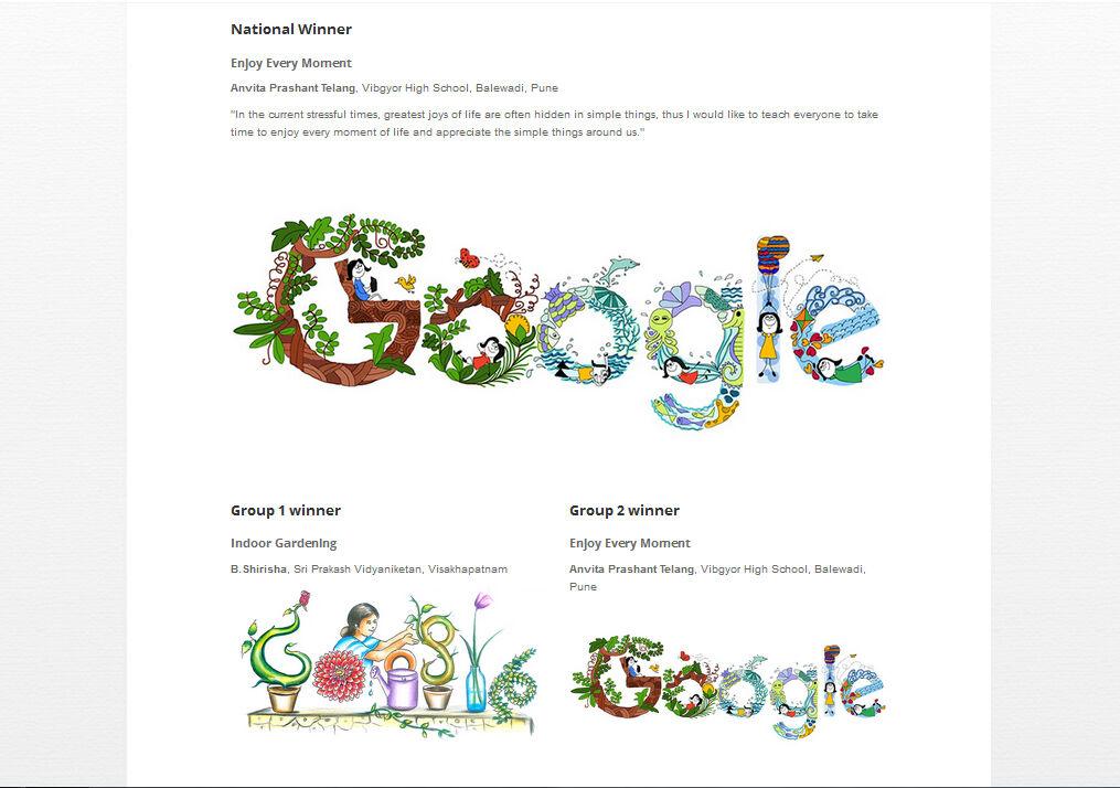 Pemenang Kontes Doogle 4 Google 2016