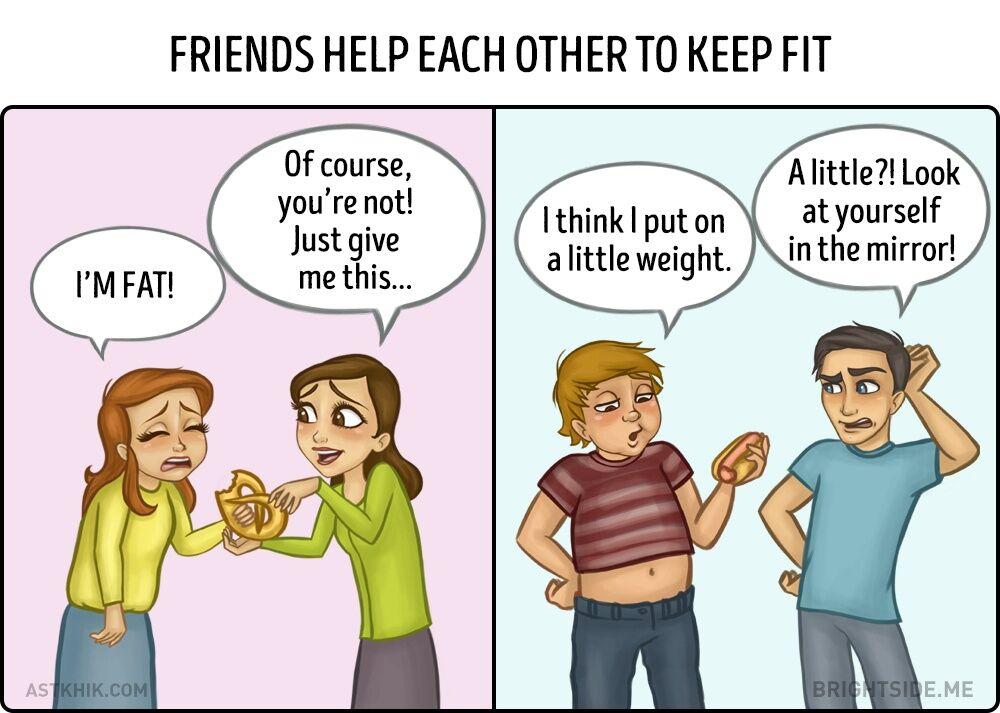 Perbedaan Persahabatan Cewek Dan Cowok 9