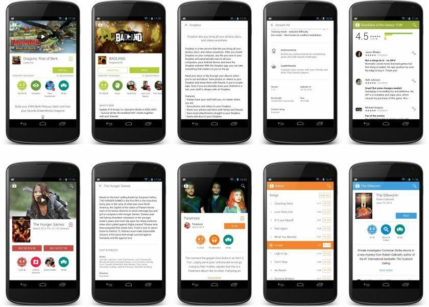 Google Play Store Store 2014