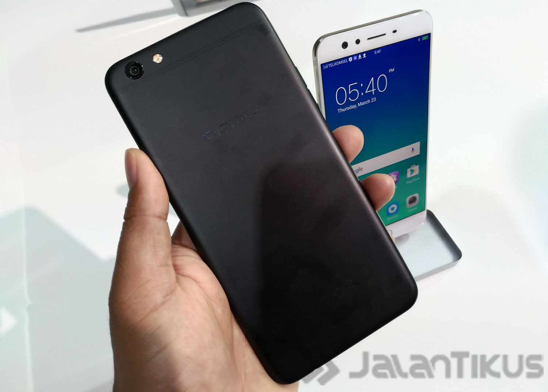 Oppo F3 Plus Black Edition