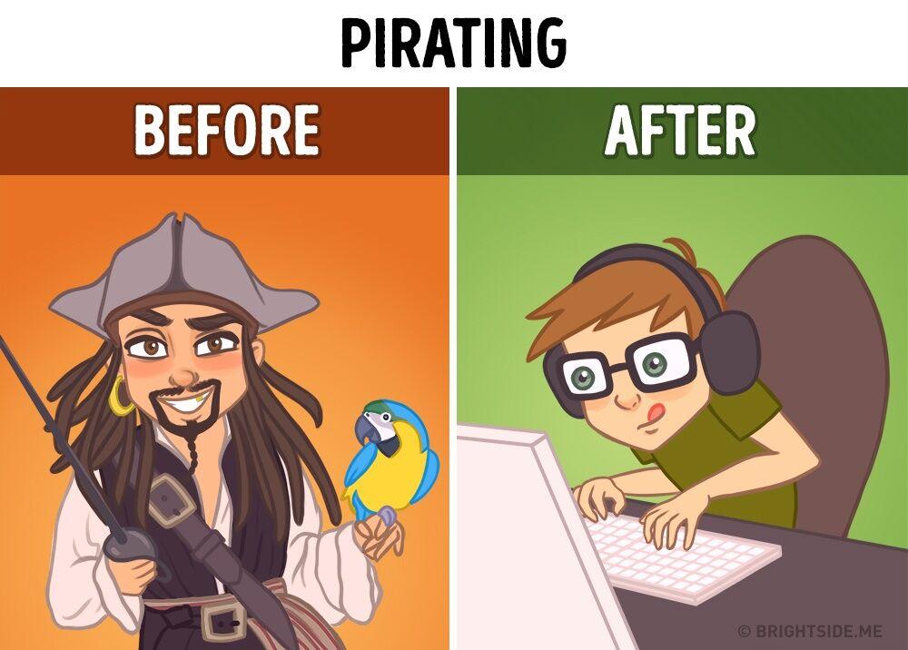 Ilustrasi Internet Mengubah Dunia 8