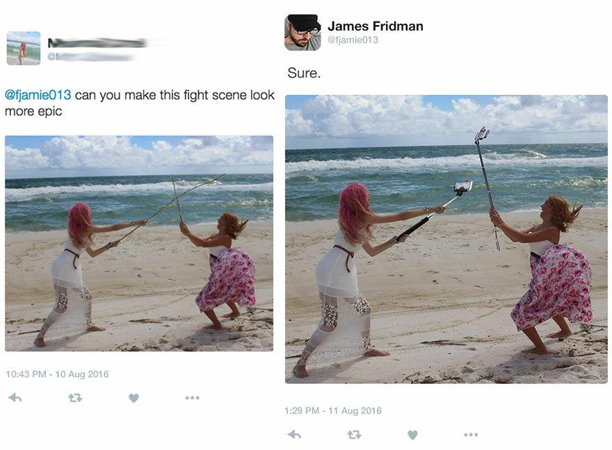 Benar Benar Pertempuran Selfie Yang Epik Banget