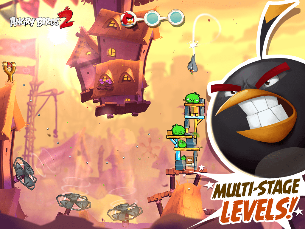 Angry Birds 2 Multi Levels Now