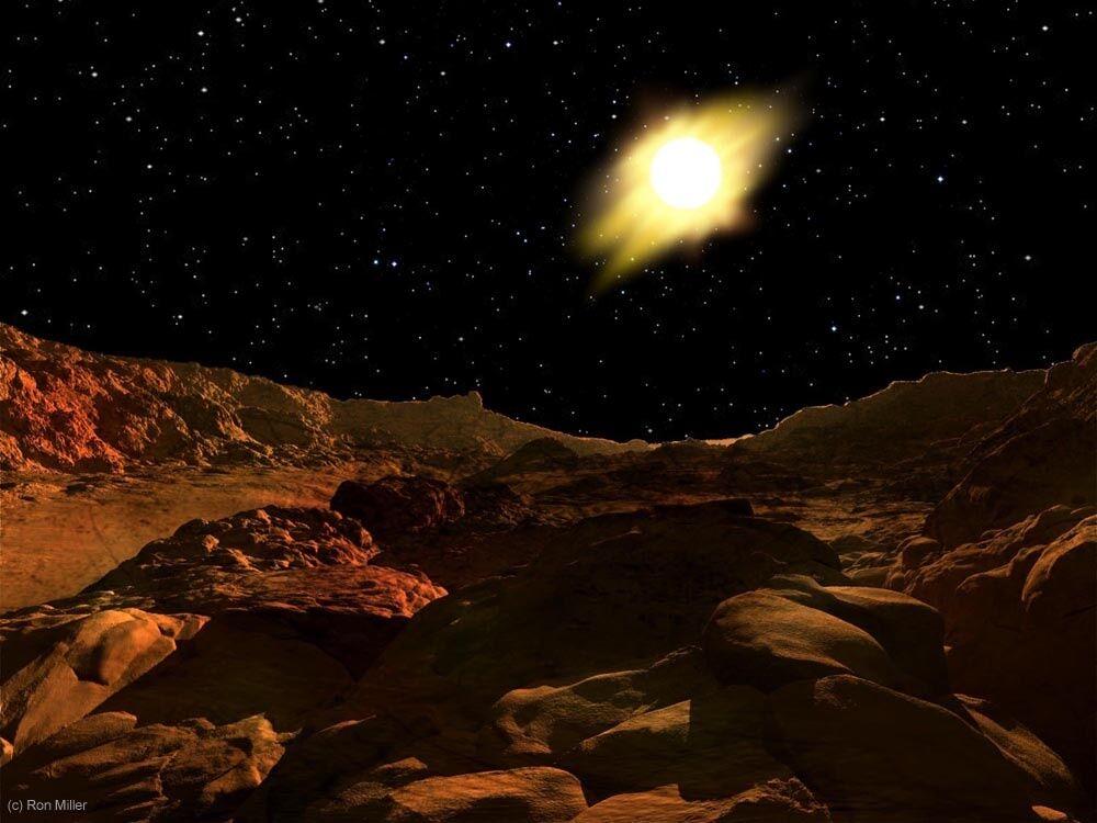 Pemandangan Matahari Terbit Dari Berbagai Planet 1