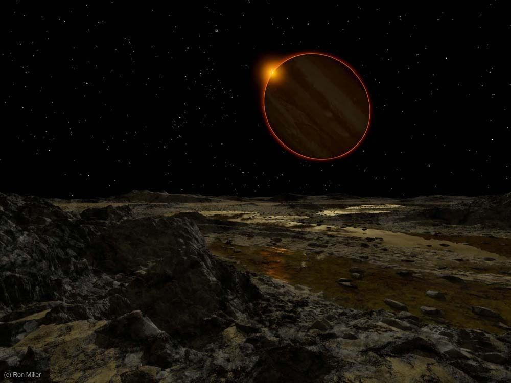 Pemandangan Matahari Terbit Dari Berbagai Planet 4