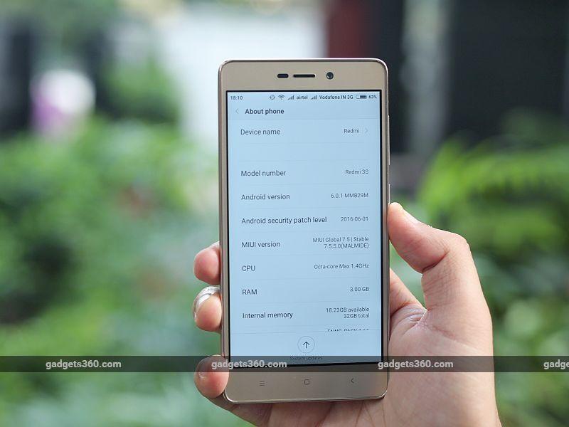 Xiaomi Redmi 3s Prime 8