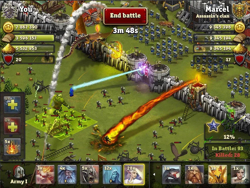 Game Perang Kerajaan Android 2 A7388
