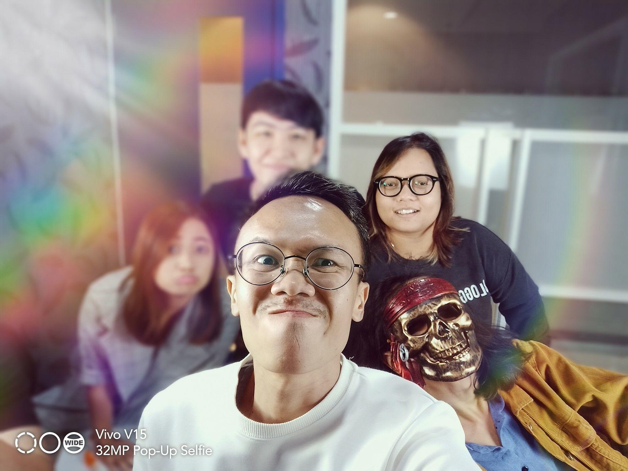 Foto Selfie Vivo V15 02 24d5e