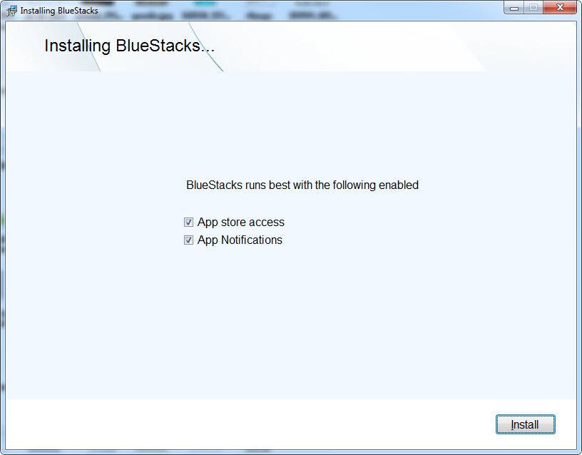Install Bluestacks 2