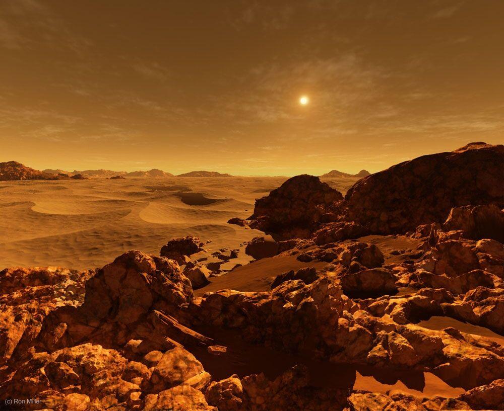 Pemandangan Matahari Terbit Dari Berbagai Planet 3