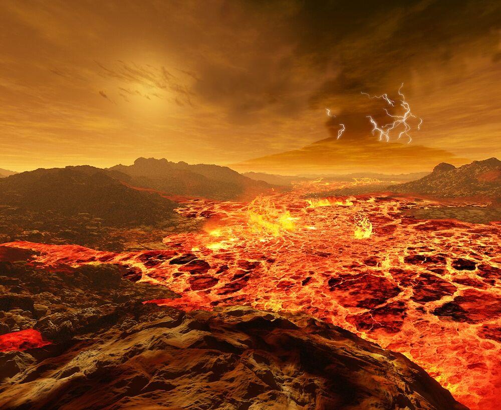 Pemandangan Matahari Terbit Dari Berbagai Planet 2