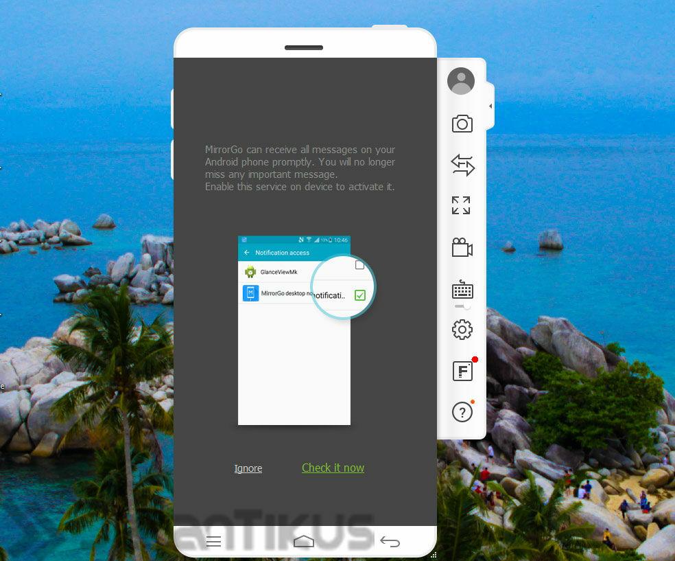 Cara Merekam Layar Android Di Pc 3