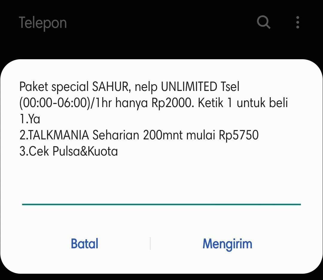 Cara Cek Kuota Telkomsel 3 D2b7c
