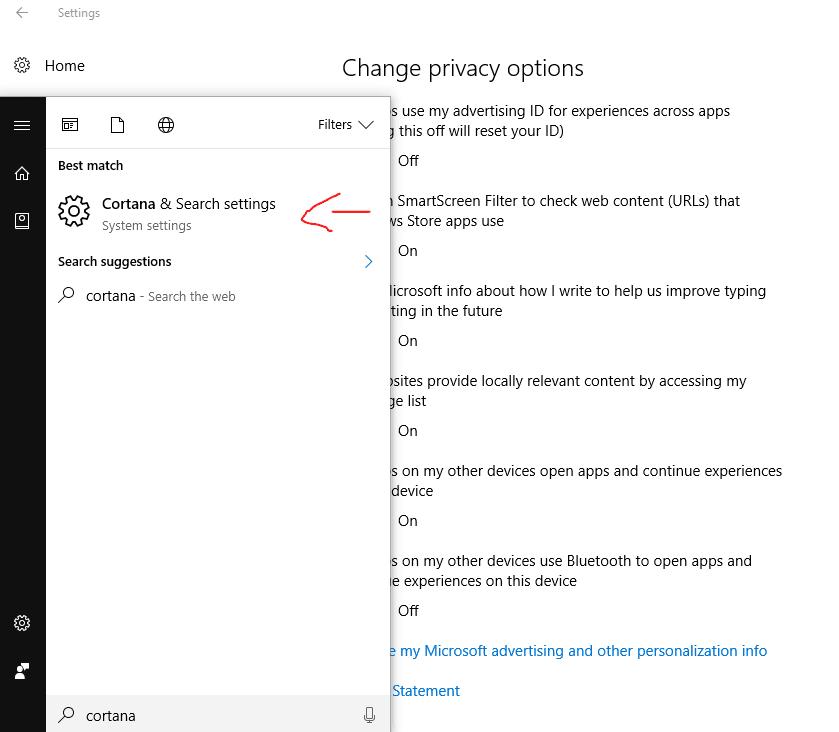 Cara Menonaktifkan Cortana