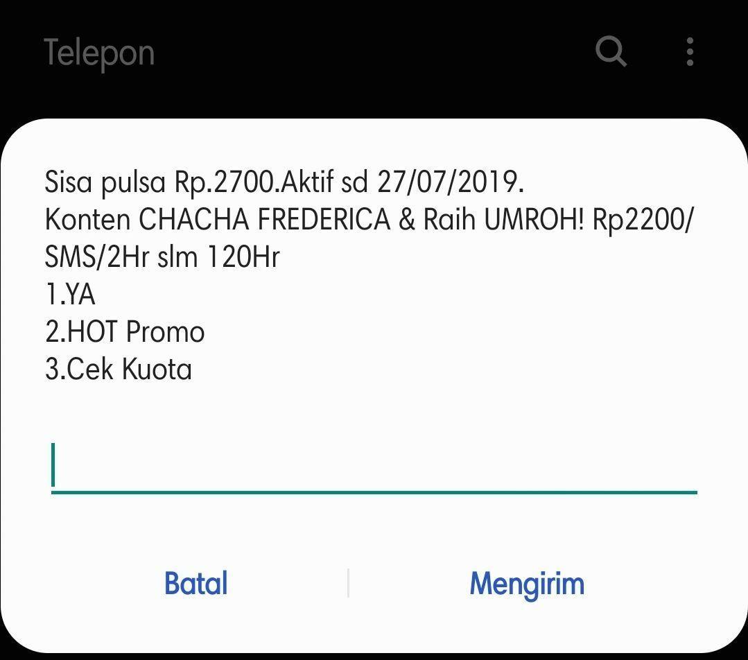 Cara Cek Kuota Telkomsel 2 6a966