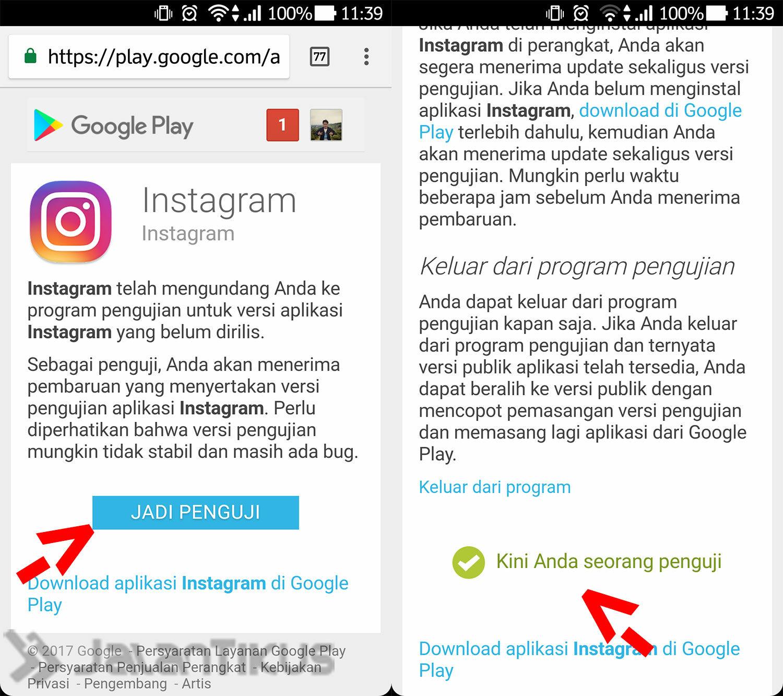 Cara Menjadi Beta Tester Android 5