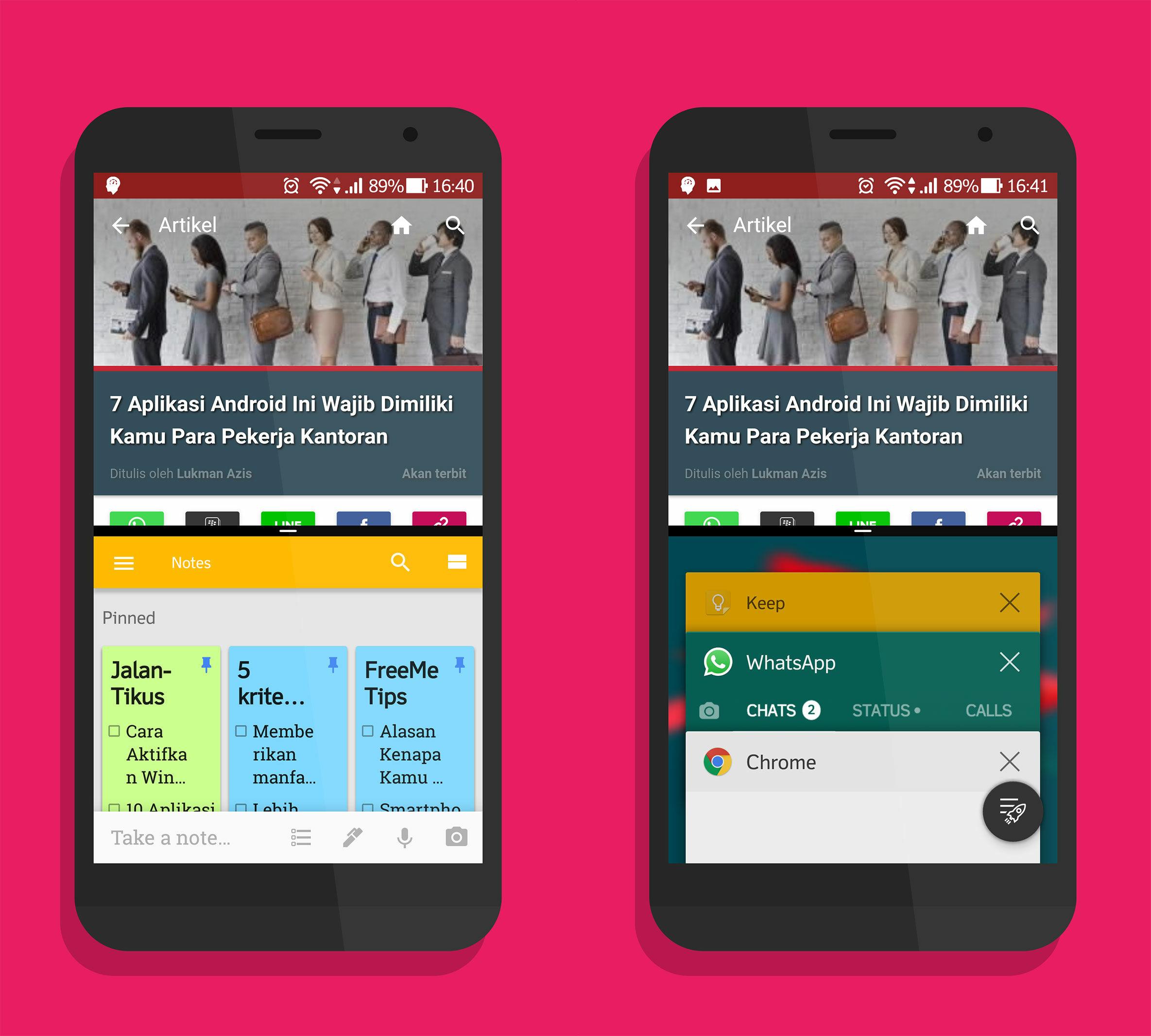 Multi Window Fitur Paling Keren Dari Android Nougat