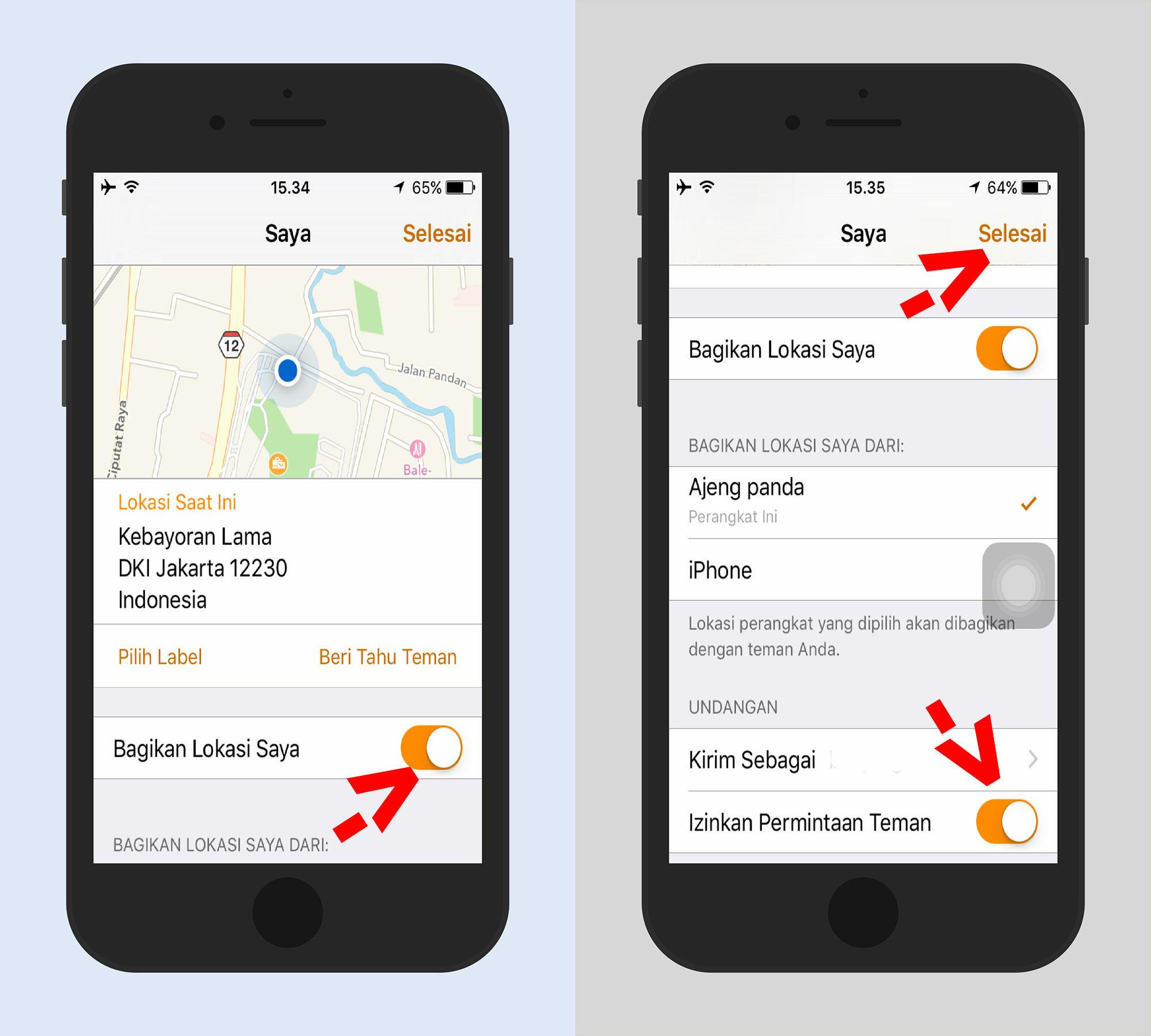 Cara Melacak Lokasi Orang Dengan Iphone 3