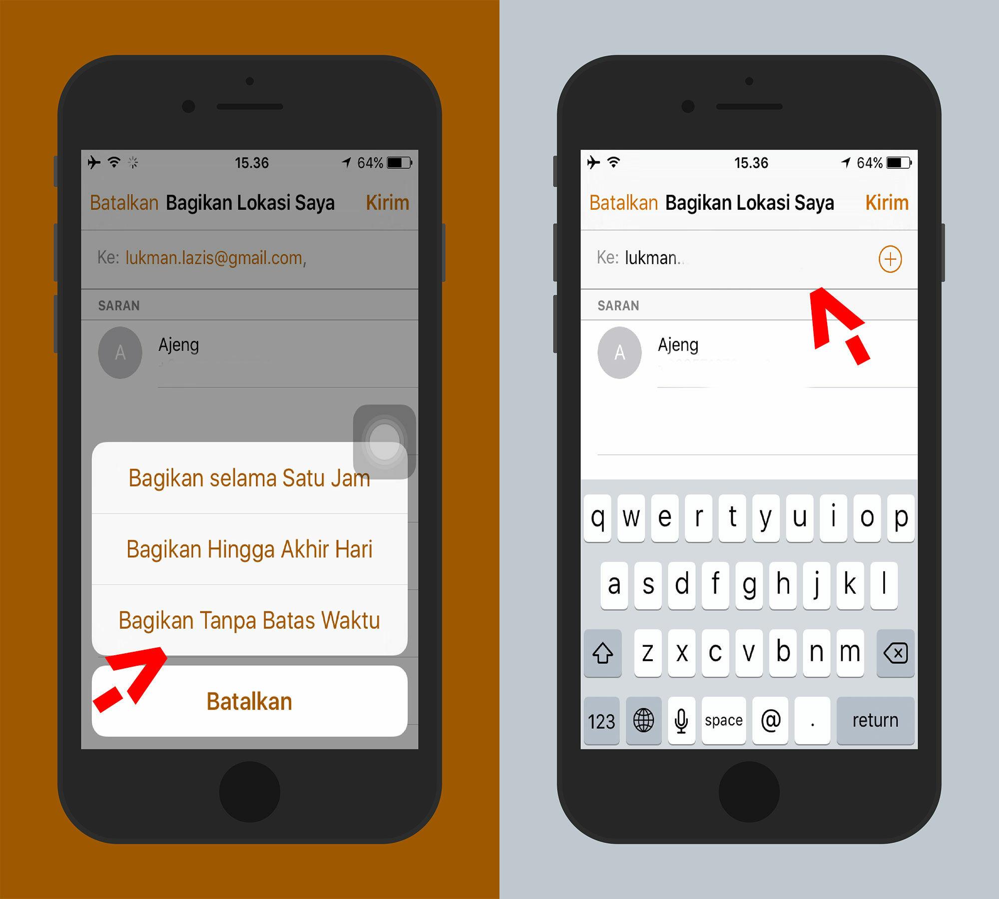 Cara Melacak Lokasi Orang Dengan Iphone 4