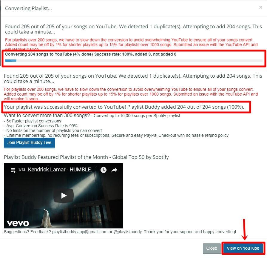Cara Mengubah Playlist Spotify Menjadi Playlist YouTube 5 B4560