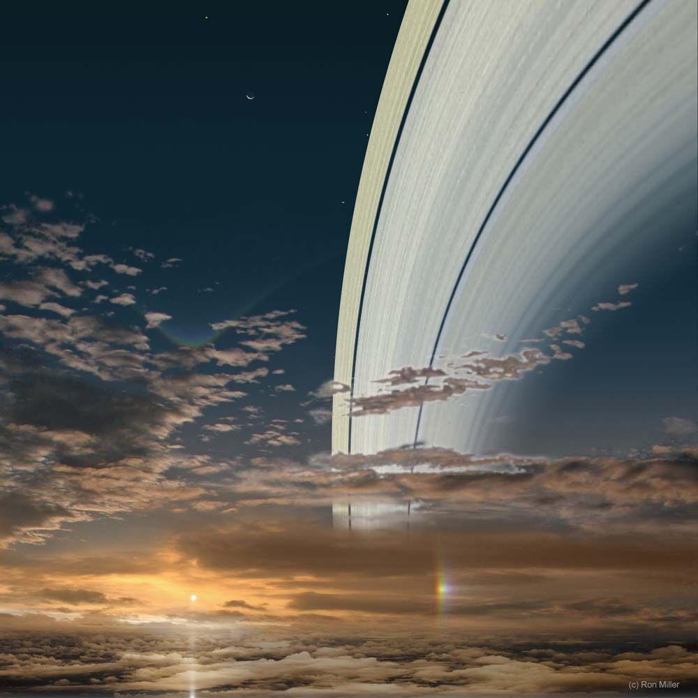 Pemandangan Matahari Terbit Dari Berbagai Planet 5