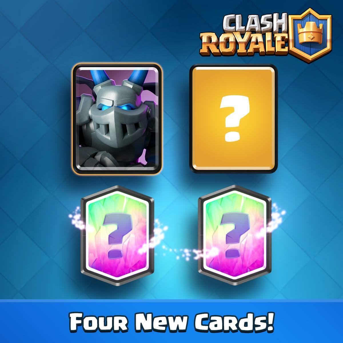 Kartu Baru Update Clash Royale September 1