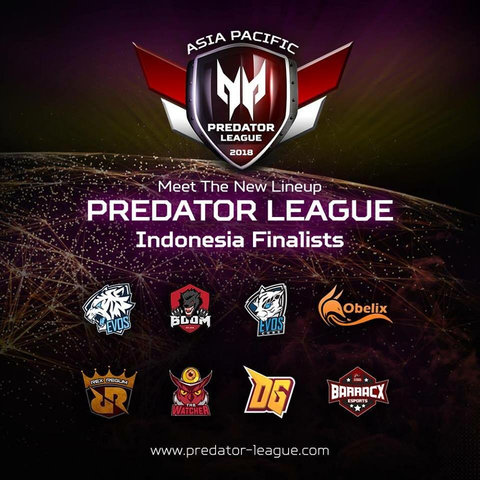 Top Four Predator League 2018