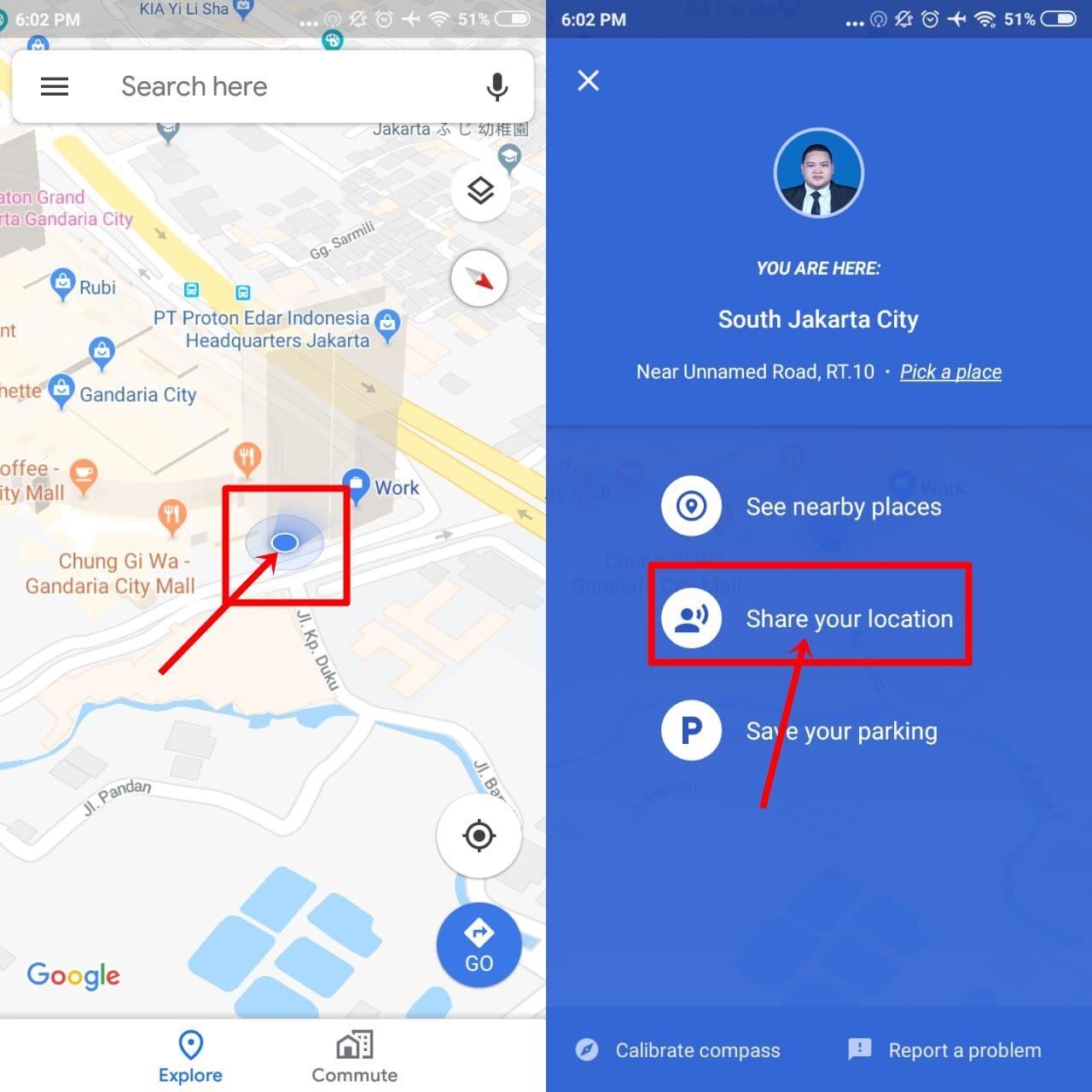 Cara Share Lokasi Google Map Ke Wa 1 C1b72