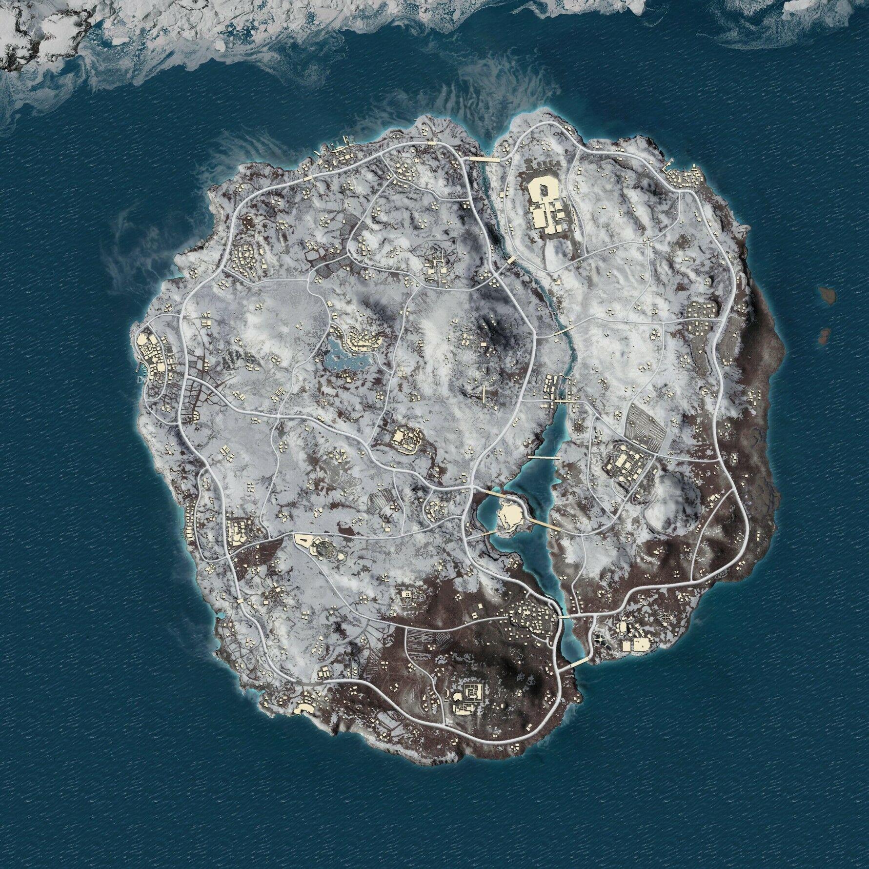 Map Vikendi 13109