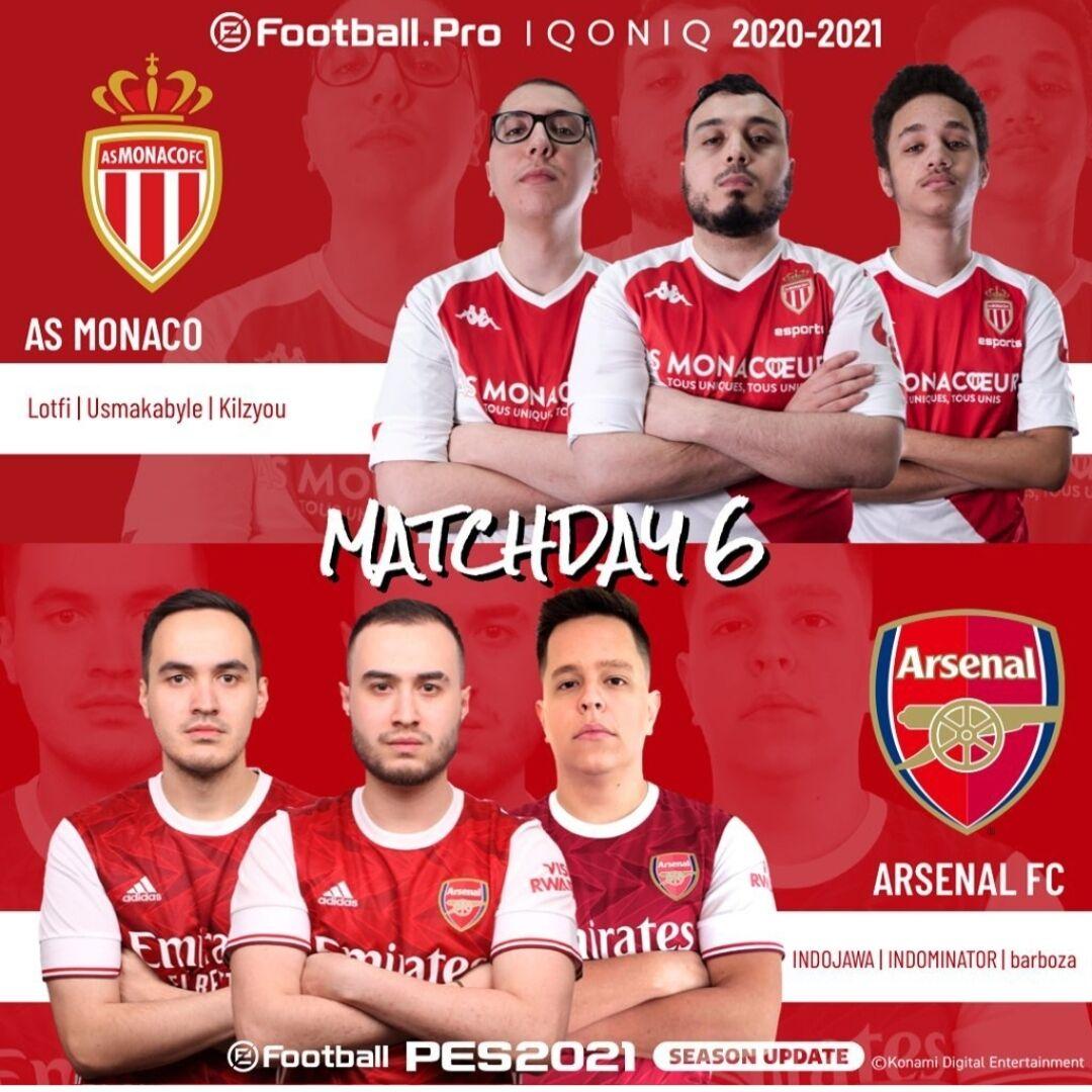 Arsenal Vs ASMonaco D1594