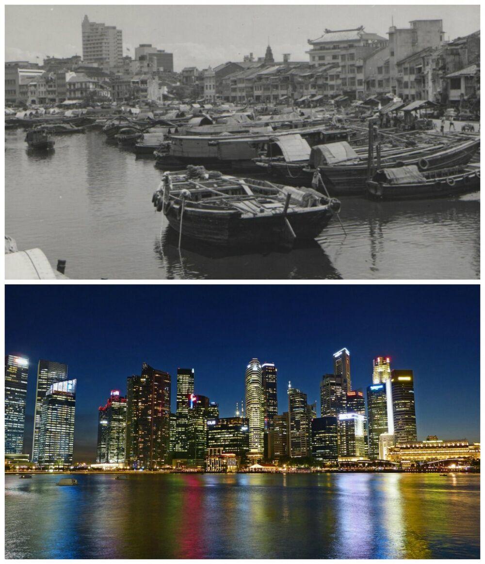Perubahan Kota Jaman Dulu Dan Sekarang 1